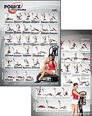 Complete Whole Body Vibration Training Charts, 60 Exercises Plus 3 Month Personal Vibration Training Programme