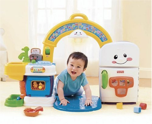 Fisher Price Laugh and Learn 2-in-1 Learning Kitchen