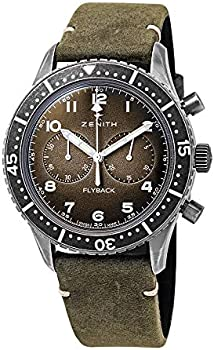 Zenith Pilot Tipo CP-2 Flyback Chronograph Automatic Dial Men's Watch