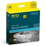 Rio Fly Fishing Fly Line Summer Redfish Wf8F Fishing Line, Aqua-Blue-Sand For Sale