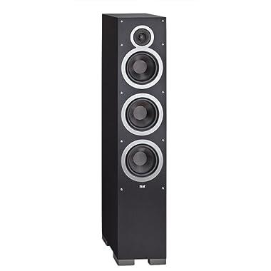 Elac - Debut F6, Floorstanding Loudspeaker (Black - Each/Single)
