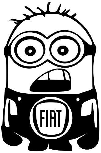 fiat-minion-decal-car-vinyl-white-sticker-5-width-by-75-height