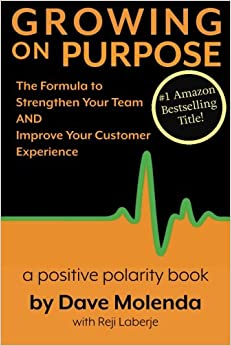 Book Growing On Purpose: The Formula to Strengthen Your Team AND Improve Your Customer Experience