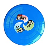 YQUE56 Unisex Cute TV Cartoon Role Poster Air Fan Outdoor Game, Sport, Flying Discs,Game Room, Light Up Flying, Sport Disc ,Flyer Frisbee,Ultra Star RoyalBlue One Size