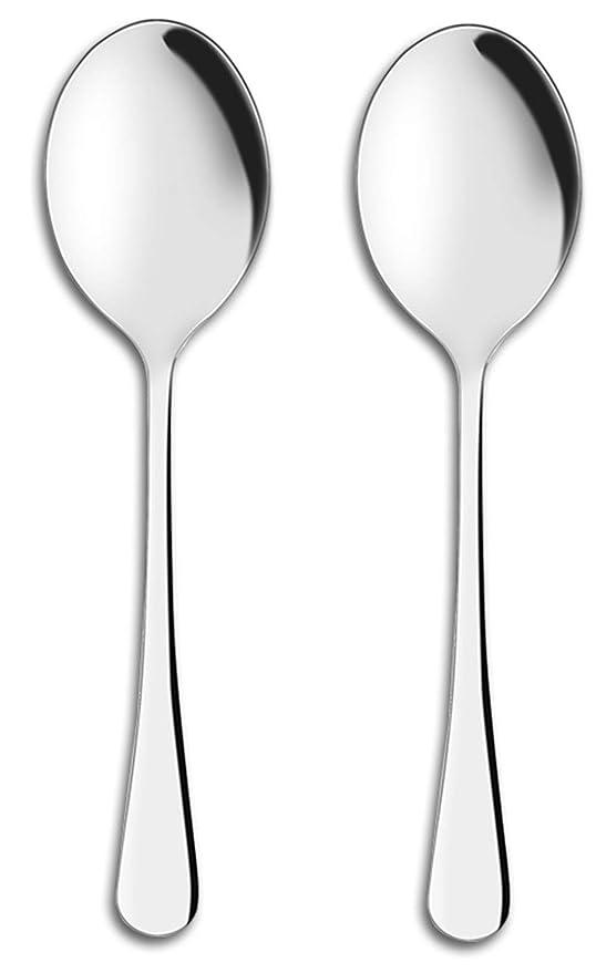 Amazon.com: AOOSY - Cucharillas de servir, 10.0 in, de acero ...