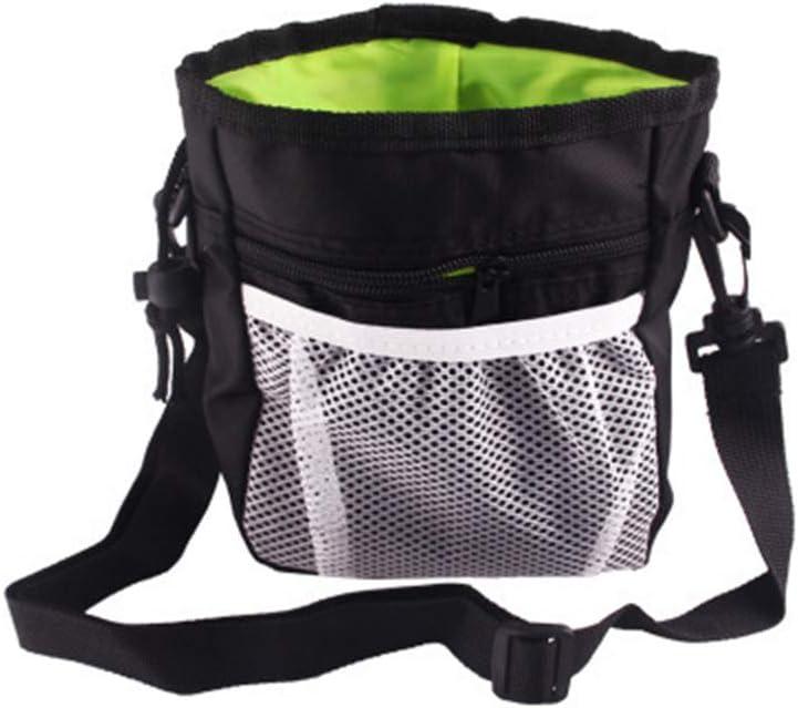 Sacchetti snack per animali domestici addestratori di animali domestici o gite allaperto sacchetti portatili per alimenti per cani con giocattoli e distributori per addestramento del cucciolo
