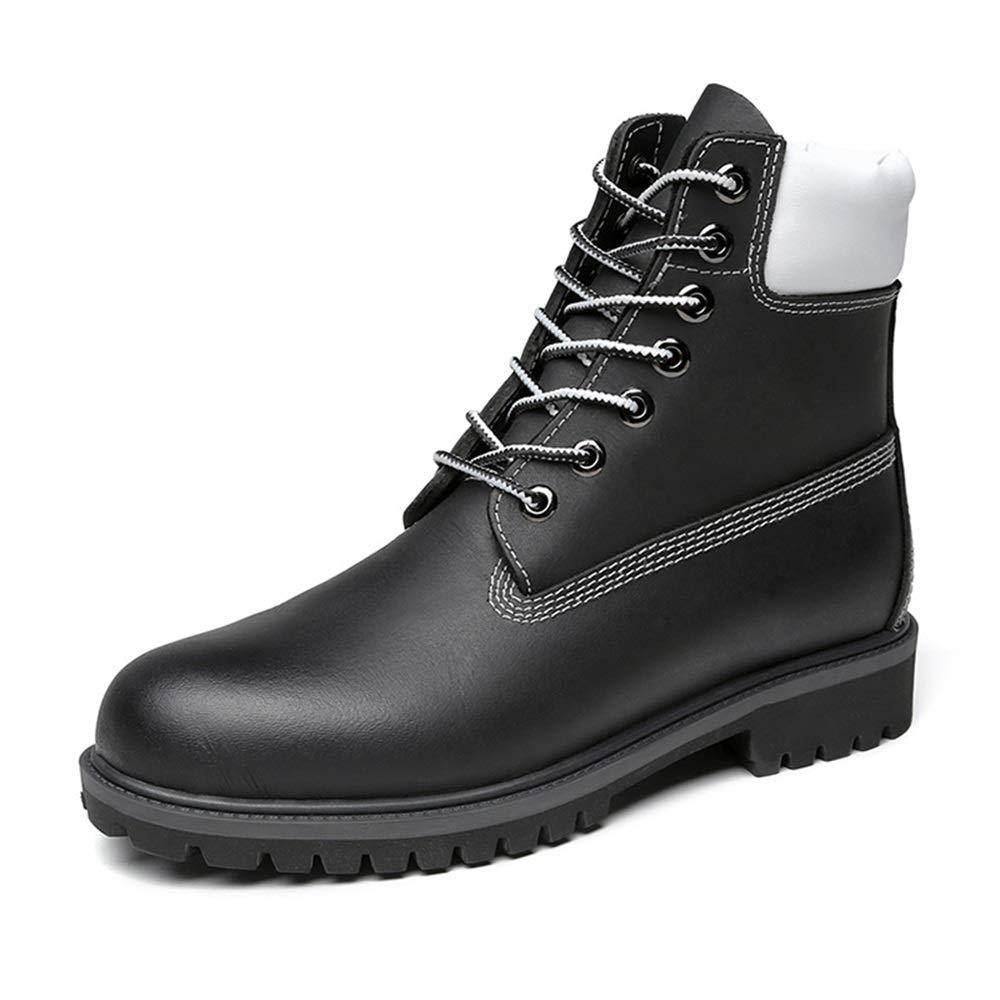 SRY-chaussures, Bottes pour Homme - Noir - Noir, 39