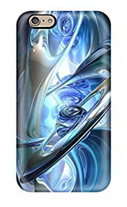 Protective Tpu Case With Fashion Design For Iphone 6 (center Of Abstract) 3102839K14231691