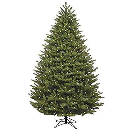 GE 7.5-ft Pre-lit Oakmont Spruce Artificial Christmas Tree 1000 Constant  Clear White - Amazon.com: GE 7.5-ft Pre-lit Oakmont Spruce Artificial Christmas