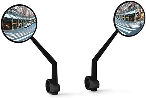 LKXOOD Ciclismo Montar Bicicleta Bicicleta Reflector Espejo 360 Rotación Retrovisor Bicicleta Manillar Espejo retrovisor clásico: Amazon.es: Deportes y aire libre