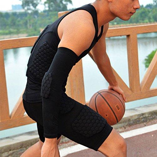 ball avec pourraient Basket basket sécurité Gilet blocage de noir Homme anti basket Honeycomb Football top Armure sport NEW coussin Gilet qtZ47n