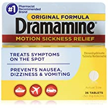 Dramamine 50mg Tablets-36 ct by Dramamine