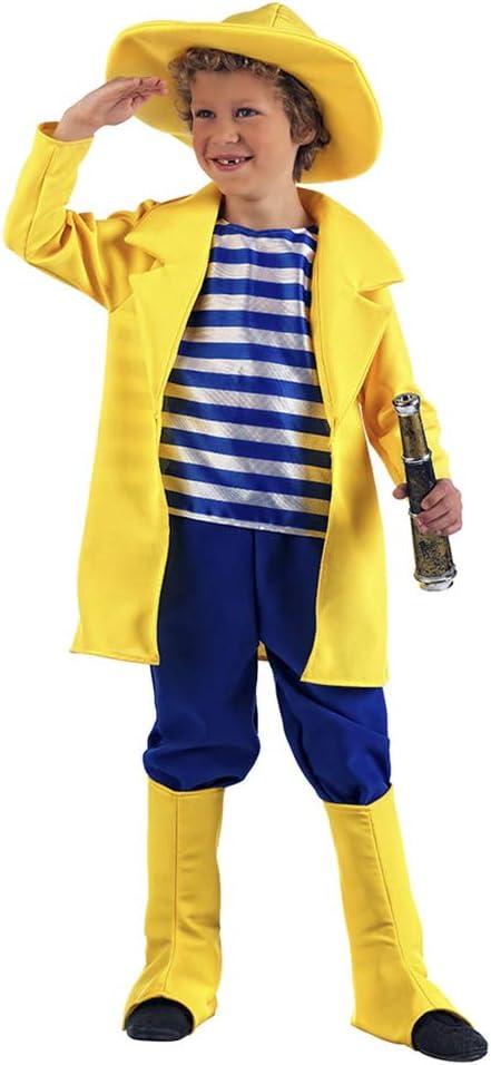 Carnaval Disfraz pescador 5-7 años: Amazon.es: Juguetes y juegos