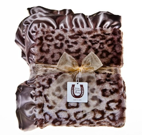 Max Daniel Designs | Grey Jaguar Baby Blanket by Max Daniel Designs