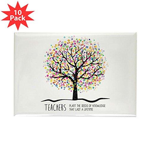 CafePress - Teacher Appreciation Quote Magnets - Rectangle Magnet, 2
