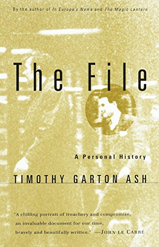 The File: A Personal History (Vintage Filler)