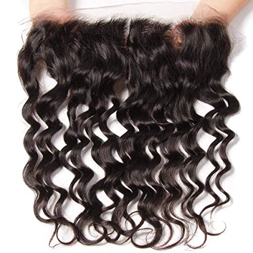 YIROO 7A Brazilian Natural Wave 13X4 Lace Frontal 100% Virgin Human Hair Natural Color (10