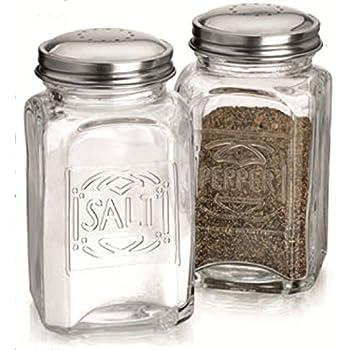 Home Essentials & Beyond 8996 Lifestyle Embossed Salt & Pepper Shaker