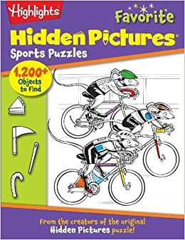 Sports Puzzles: From The Creators Of The Original Hidden Pictures® Puzzle! (Highlights™ Hidden Pictures®) Download Pdf