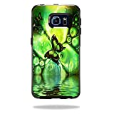 MightySkins Protective Vinyl Skin Decal for OtterBox Symmetry Galaxy S6 Edge Case wrap cover sticker skins Mystical Butterfly