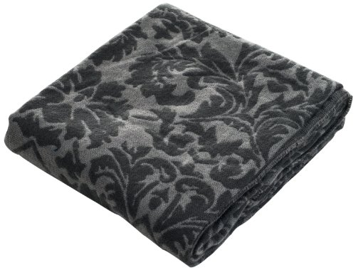 Lavish Home Jacquard Blanket Throw 50 x 60 - Blue