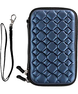 FrndzMart Bubble 2.5 inch External Hard Disk Cover Waterproof, Shock Proof for Seagate, Toshiba, WD, Sony, Transcend, Samsung, Dell, Apple, VU, Kingston (Blue)