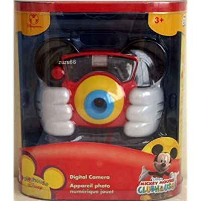 Playhouse Disney Mickey Mouse Clubhouse Digital Camera: Toys & Games