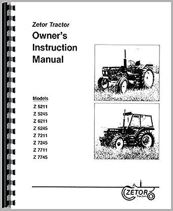 zetor 5245 workshop manual