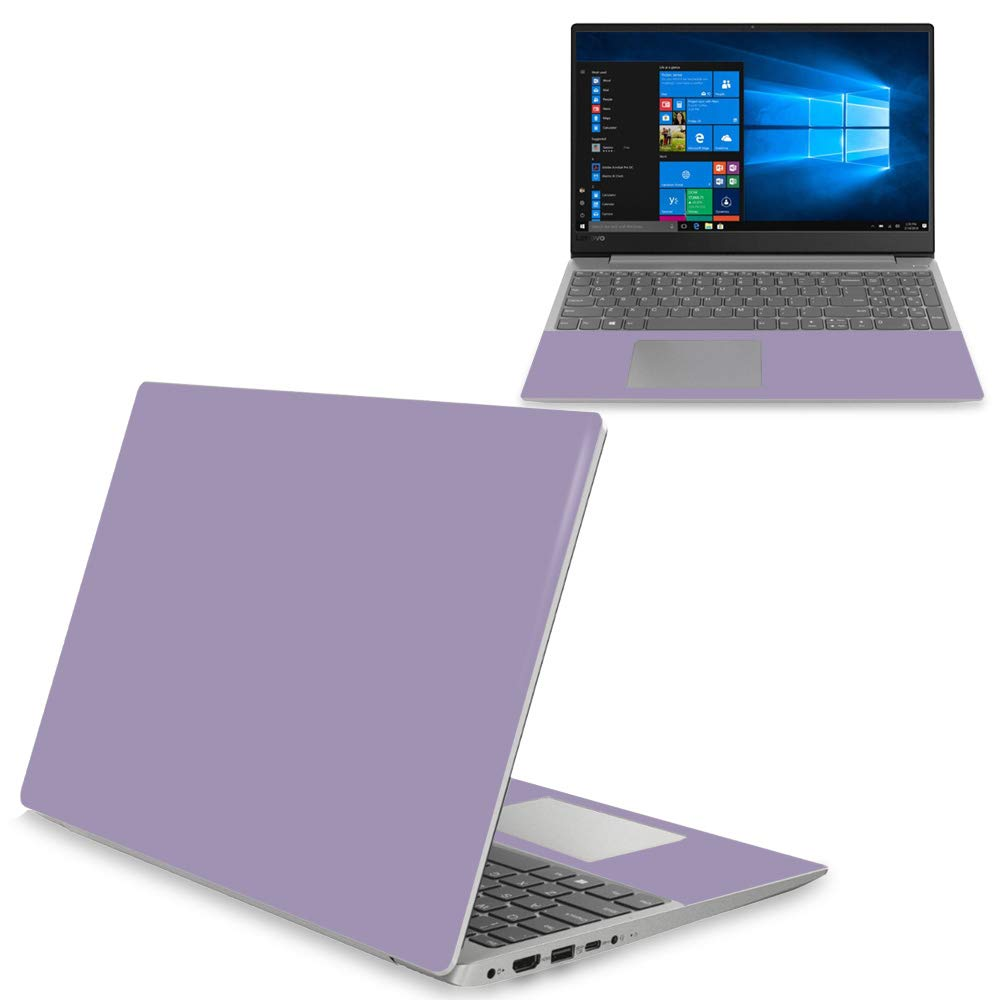 MightySkins Skin Compatible with Lenovo Ideapad 330S 15'' (2018) - Solid Lavender | Protective, Durable, and Unique Vinyl Decal wrap Cover | Easy to Apply, Remove, and Change Styles | Made in The USA