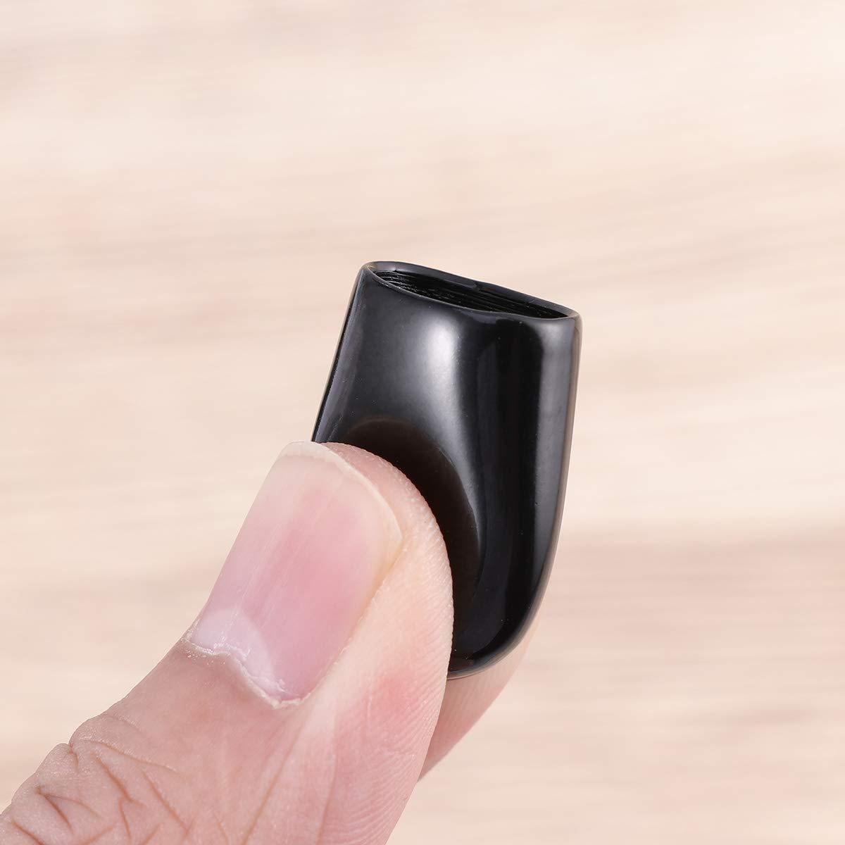 DOITOOL Capuchon de manchon de protection de 100pcs 6mm PVC couvercle isol/é filetage externe noir