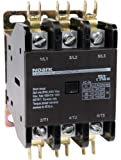 NOARK Electric Ex9CK50B30G7 Definite Purpose Contactor, Lug Terminals with Quick Connect Spades, 50 amp, 3 NO, 120V Coil