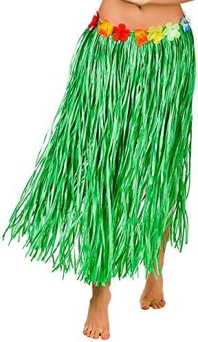 Lei Plus Size 80cm length Size 18-24 Hawaiian Hula Grass Skirt Costume Set Inc
