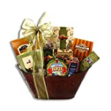 Large Brie and Snacks Cheese Lover's Gift Basket