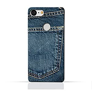 AMC Google Google Pixel 3 TPU Silicone Protective Case with Jeans Pocket Design