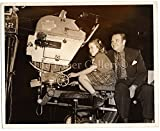 Behind the Scenes Photograph Wallace Beery Daughter Carol Ann with Camera