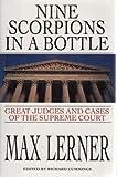 Nine Scorpions in a Bottle, Max Lerner, 1559701684