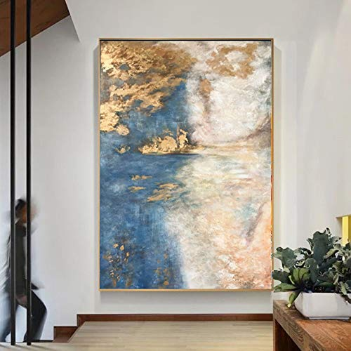 l Paintings,Landscape Style, Simple Abstract Cloud Painting, Paintings On Canvas, Large Size Home Decoration Wall Art, For Bedroom Living Room Bedside Restaurant Decoration Paintin ()