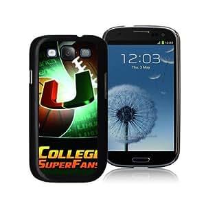 zeroCase NCAA Miami (FL) Hurricanes Samsung Galaxy S3 I9300 Hard Cover Case 2014 Style