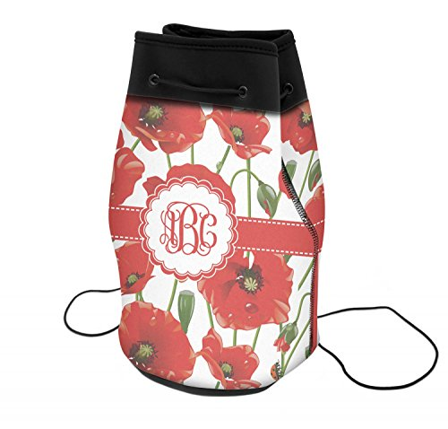 Poppies Neoprene Drawstring Backpack (Personalized) ()