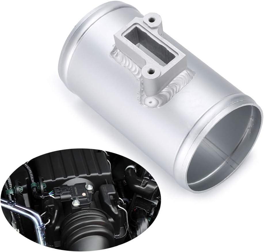 Tiamu 76Mm Air Flow Sensor Mount For Fit For Volkswage Maf Performance Air Intake Meter Adapter