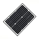 ALEKO SP20W24V 20 Watt 24 Volt Monocrystalline Solar Panel for Gate Opener Pool Garden Driveway