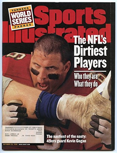 SI: Sports Illustrated October 26 1998 NFL's Dirtiest Players: Kevin Gogan 49ers
