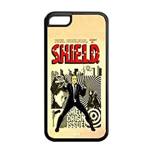 LJF phone case the Case Shop- Customizable Agents of Shield TV Show Avengers iPhone 5C TPU Rubber Hard Back Case Cover Skin , i5cxq-188