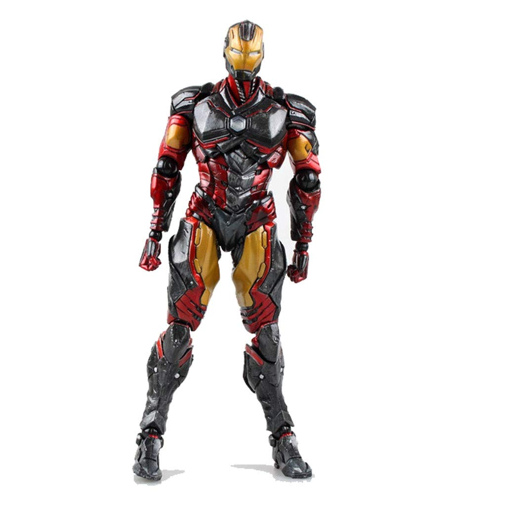 LLDDP Anime Model Toy Model Anime Statue Avengers Play Arts Change Iron Man Movable Toy Boxed Collection 26cm