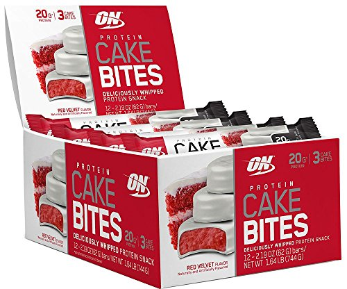 Optimum Nutrition Protein Cake Bites – Red Velvet