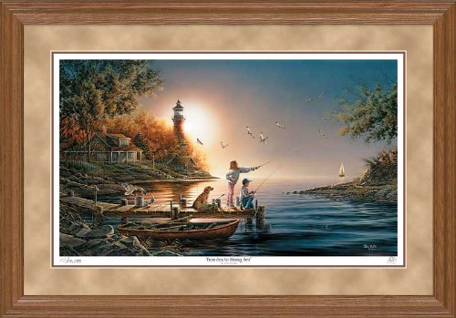 From Sea to Shining Sea Framed Limited Edition Print by Terry Redlin