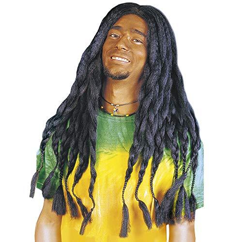 Adult's Black Rasta Dreadlocks Wig
