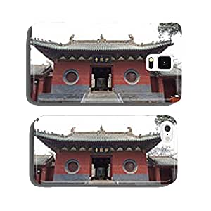 A View of Shaolin Temple Front Entrance at Dengfeng, China cell phone cover case Samsung S6