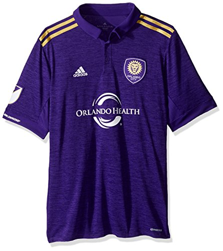 MLS Orlando City Youth Unisex Replica Wordmark s/jersey, Purple, Large