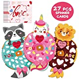 Toys : Valentine Cards Magic Spinners for Kids with Envelopes Classroom Exchange Gift Game Cards School Party Favors Supplies 27 Pack